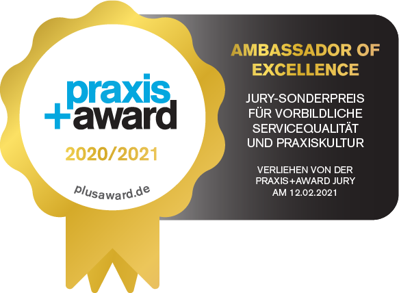 Praxis + Award Ambassador of Excellence Siegel